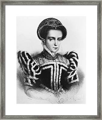 Mary I, Queen Of England And Ireland Framed Print