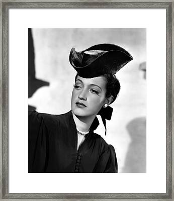 Masquerade In Mexico, Dorothy Lamour Framed Print by Everett