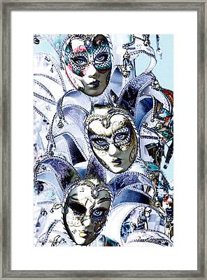 Masquerade Framed Print by Shelly Stallings