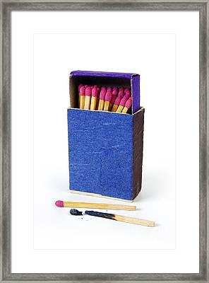 Matchbox Framed Print by Carlos Caetano