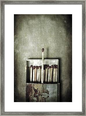 Matches Framed Print by Joana Kruse