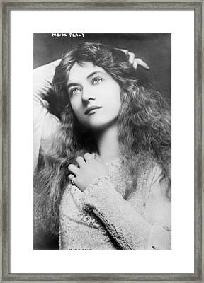 Maude Fealy 1881-1971, American Framed Print by Everett