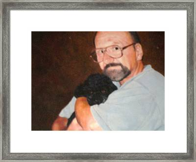 Me And  Bubba Framed Print by Patrick Webster