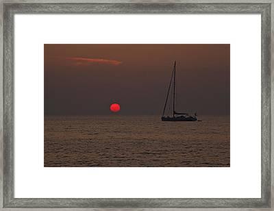Mediterranean Framed Print by Joana Kruse