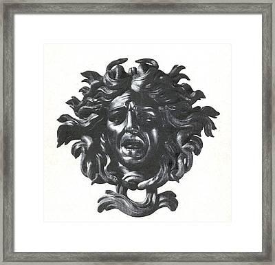 Medusa Head Framed Print