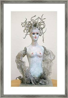 Medusa Framed Print by Ruth Edward Anderson