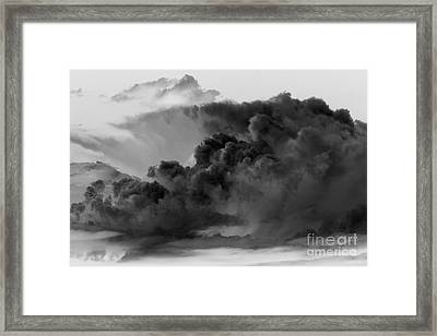 Mega Storm Cloud Framed Print