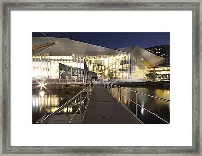 Melbourne Convention Center Framed Print