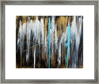 Meltdown Framed Print by Terrance Prysiazniuk