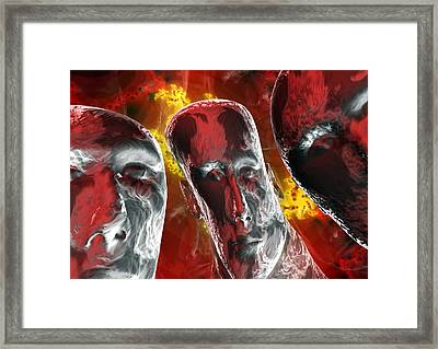 Mental Illness Framed Print by David Mack