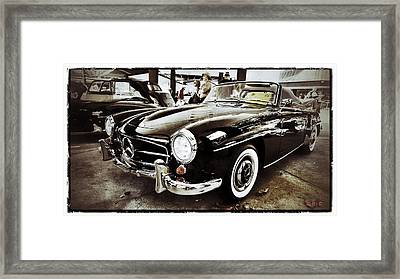 Mercedes 190 Sl Framed Print