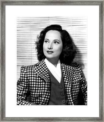 Merle Oberon, 1945 Framed Print by Everett