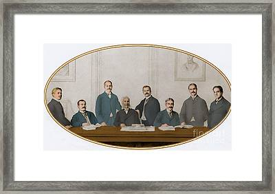Meyer Guggenheim And Sons Framed Print by Science Source