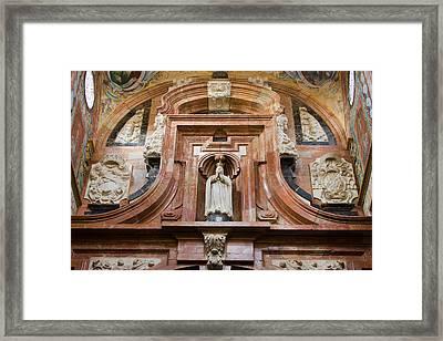 Mezquita Cathedral Architectural Details Framed Print by Artur Bogacki
