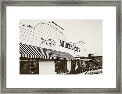 Middendorf's Framed Print by Scott Pellegrin