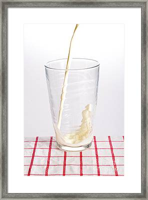 Milk Framed Print by Photo Researchers, Inc.