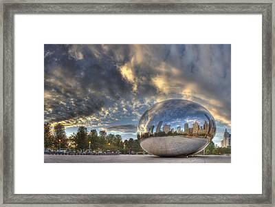 Millennium Park Framed Print by Twenty Two North Photography