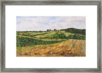 Milligan's Farm Framed Print