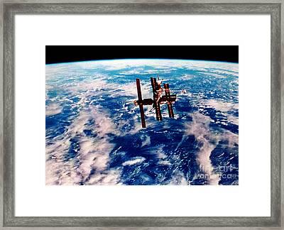 Mir Space Station Framed Print by Nasa