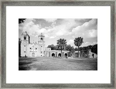 Misi�n Nuestra Se�ora De La Pur�sima Framed Print by Everett