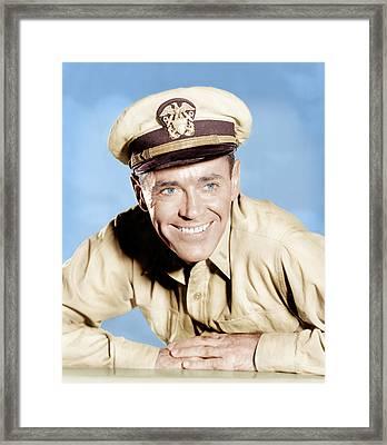 Mister Roberts, Henry Fonda, 1955 Framed Print by Everett
