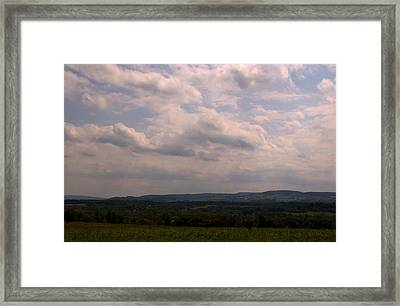 Framed Print featuring the photograph Mohawk Valley by Steven Richman