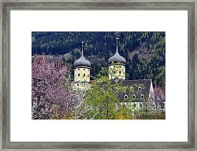Monastery In Tyrol Framed Print
