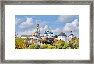 Monastery Panorama  Framed Print by Aleksandr Volkov