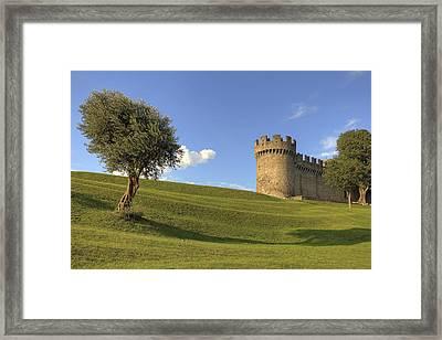 Montebello - Bellinzona Framed Print by Joana Kruse