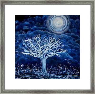 Moon Shine  Framed Print by Caroline Street