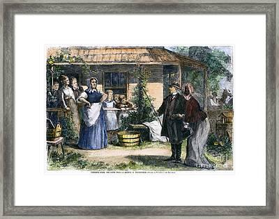 Mormon Wives, 1875 Framed Print by Granger