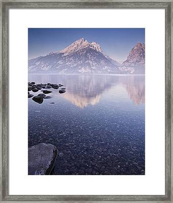 Morning Calm Framed Print by Andrew Soundarajan