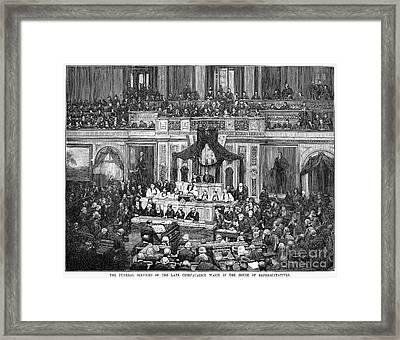 Morrison R. Waite (1816-1888) Framed Print