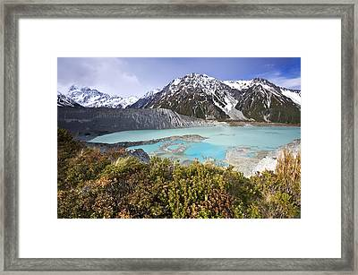 Mount Cook National Park Framed Print by Ng Hock How
