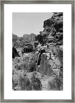 Mount Sinai, Trans-jordan. Petra Framed Print by Everett