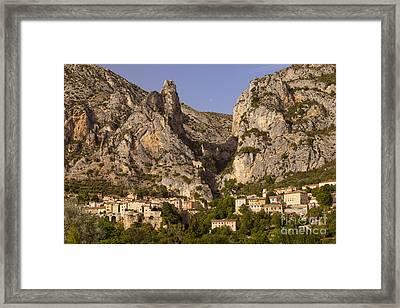 Moustier-sainte-marie Framed Print by Brian Jannsen
