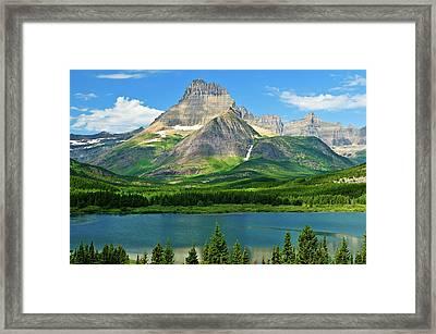 Mt Wilbur Framed Print by Greg Norrell