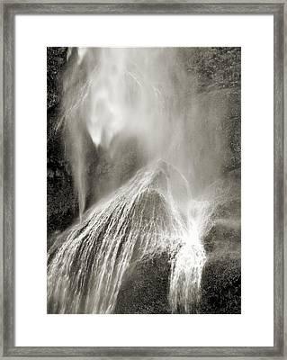 Multnomah Cascade Framed Print