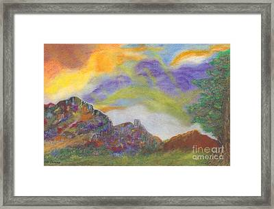 My Planet Framed Print by Mary Zimmerman