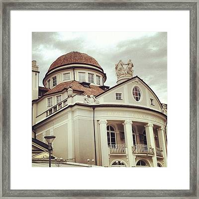 My Town... Merano Framed Print