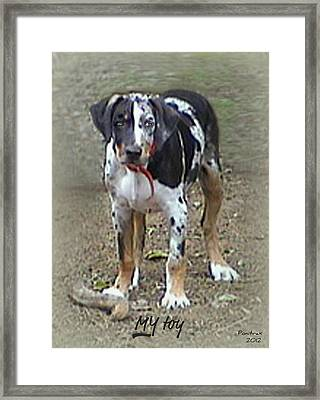 My Toy Framed Print by Poni Trax