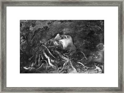 Mythology: Medusa Framed Print by Granger
