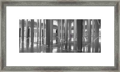 National Mosque In Kuala Lumpur Framed Print