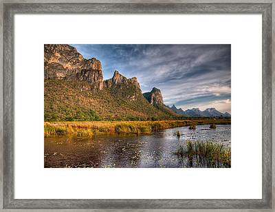 National Park Framed Print