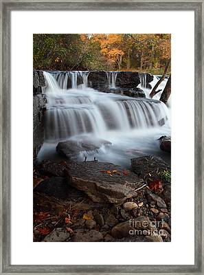 Natural Dam Framed Print