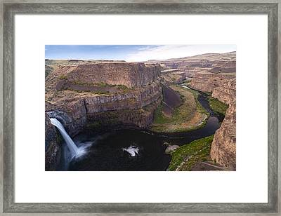 Natures Course Framed Print by Mike Reid