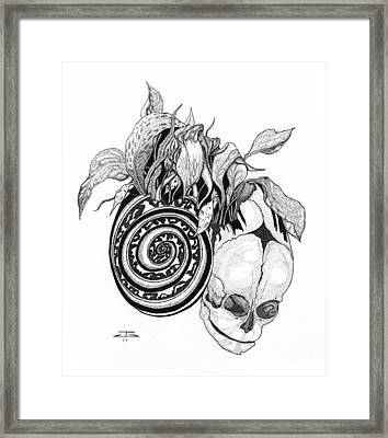 Necrosis Framed Print by Jeff Gould