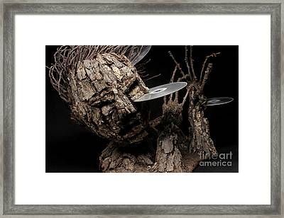Net Damage Framed Print