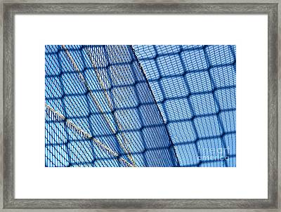Nets Framed Print by Blink Images