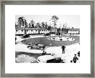 New Deal: C.c.c. Camp Framed Print by Granger